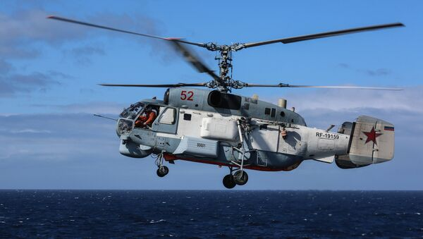 Un hélicoptère Ka-27 - Sputnik France