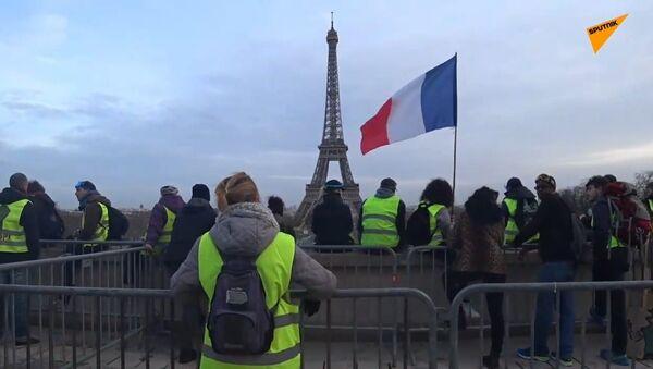 L'acte 13 des Gilets jaunes à Paris - Sputnik France