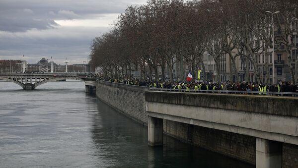 Acte 13 des Gilets jaunes à Lyon - Sputnik France