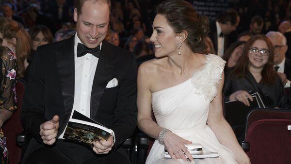 Kate Middleton et le prince William à la cérémonie de remise des prix des BAFTA - Sputnik France