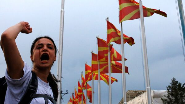 Pour élargir l'Otan, les USA sacrifient la stabilité de la Macédoine et de la région - Sputnik France