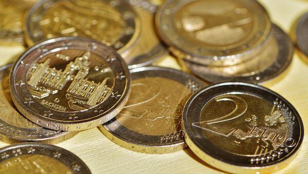 Monedas de dos euros (imagen referencial) - Sputnik France