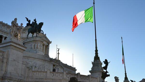 Le drapeau de l'Italie - Sputnik France