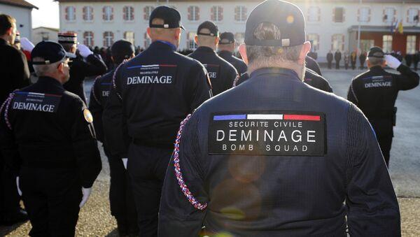 Démineurs de la Sécurité civile - Sputnik France