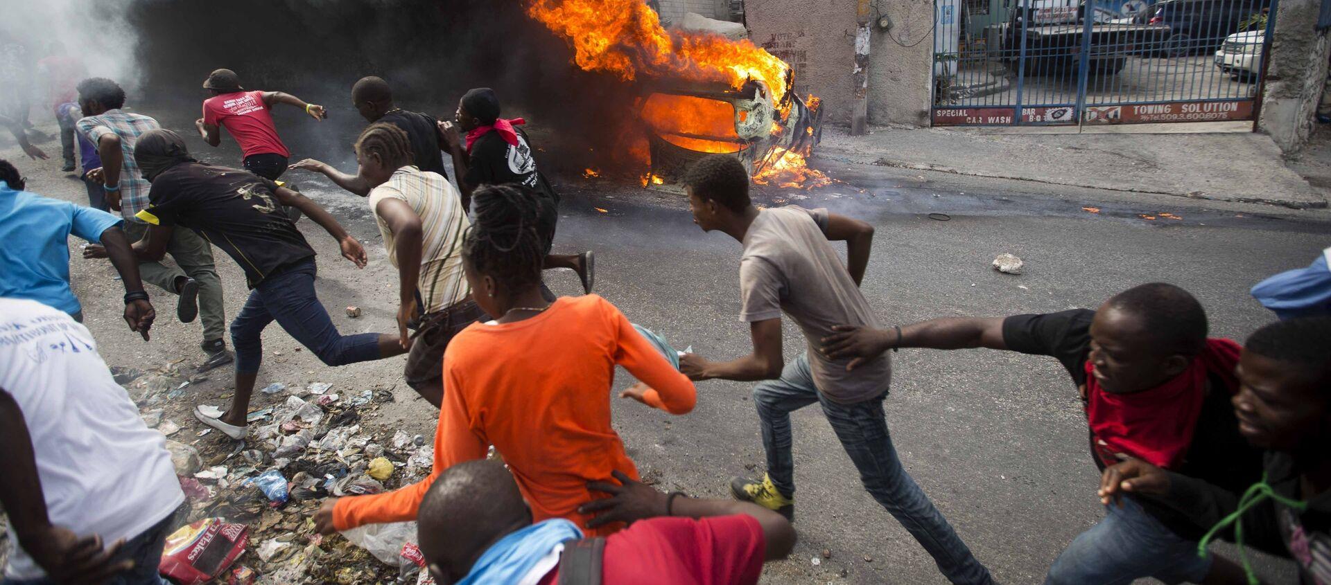 Haïti en février 2019 - Sputnik France, 1920, 17.02.2021