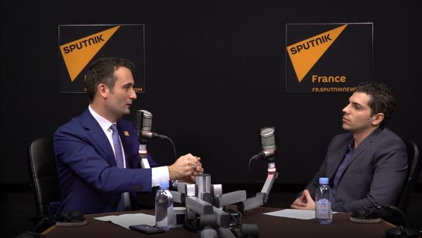 Florian Philippot, président des Patriotes - Sputnik France
