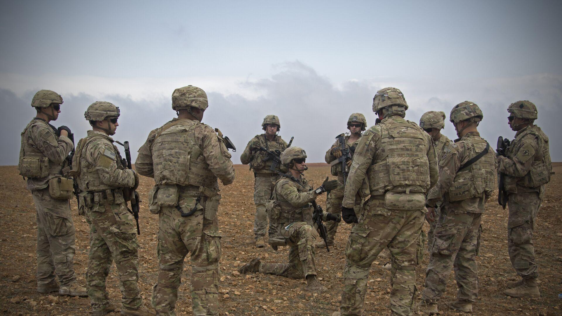 Militaires US à Manbij, en Syrie - Sputnik France, 1920, 21.09.2021