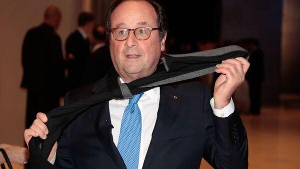 Francois Hollande au Dîner du CRIF 2019 - Sputnik France