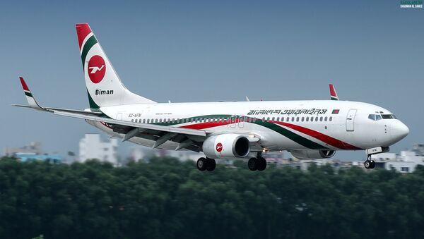 Un Boeing 737 de Biman Bangladesh Airlines - Sputnik France