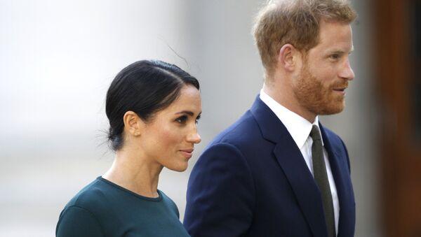 prince Harry et  Meghan Markle - Sputnik France