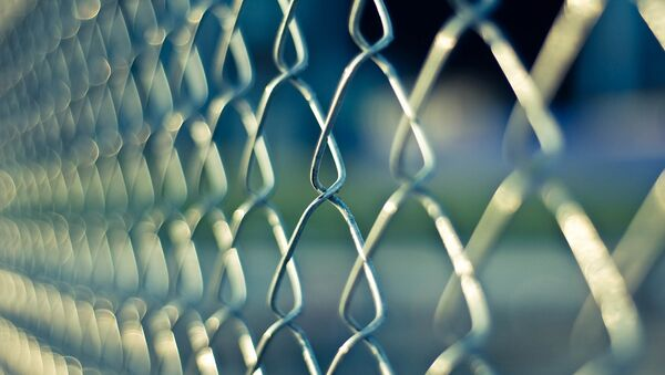 Un grillage à l'extérieur d'une prison  - Sputnik France