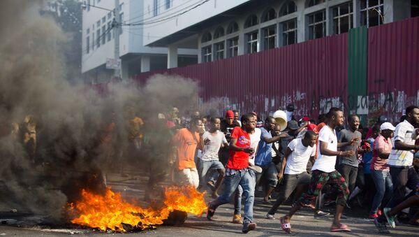 Manifestations à Haïti - Sputnik France