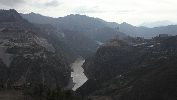 Railway Bridge Across Chenab River, Kashmir, India - Sputnik France