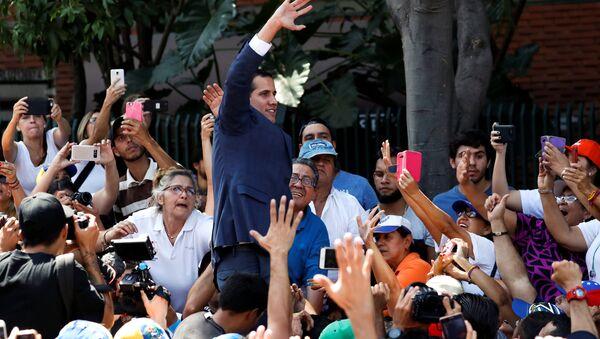 Juan Guaido, líder de la oposición venezolana - Sputnik France