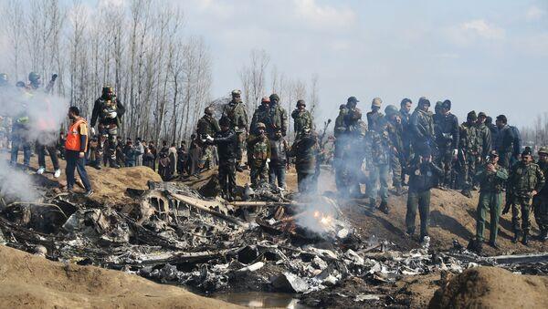 crash d'un avion des Forces aériennes indiennes - Sputnik France