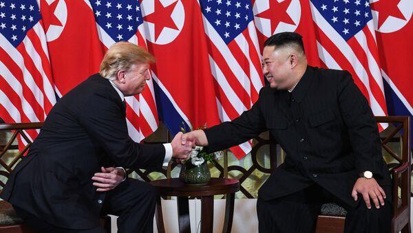 L'accueil de Donald Trump et de Kim Jong-un à Hanoï - Sputnik France