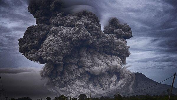 L'éruption du volcan, image d'illustration  - Sputnik France