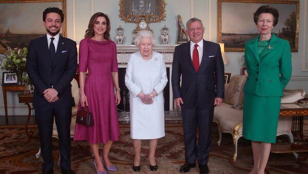 Elisabeth II reçoit le roi de Jordanie Abdallah II - Sputnik France