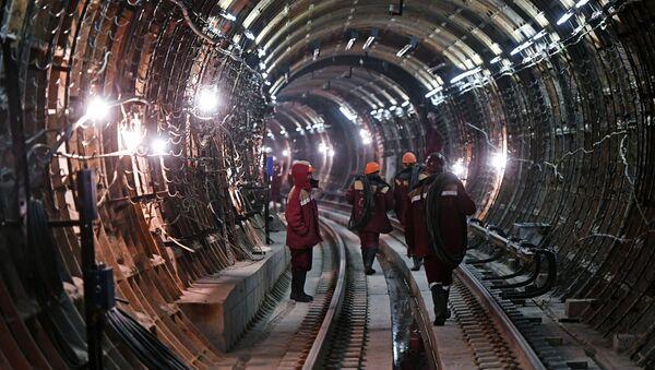 Un tunnel de métro - Sputnik France