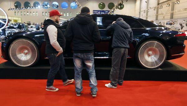 Le concept-car Giugiaro GEA concept au Salon automobile d'Essen - Sputnik France