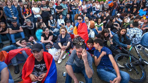 Manifestation à Erevan - Sputnik France