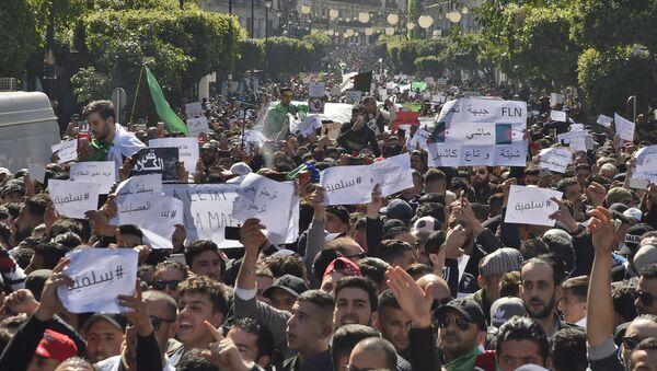 Manifestation à Alger (archives) - Sputnik France