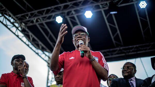 Maurice Kamto, président du Mouvement pour la renaissance du Cameroun (MRC), le 30 septembre 2018, Cameroun - Sputnik France