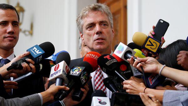 Daniel Kriener, ambassadeur d'Allemagne au Venezuela - Sputnik France