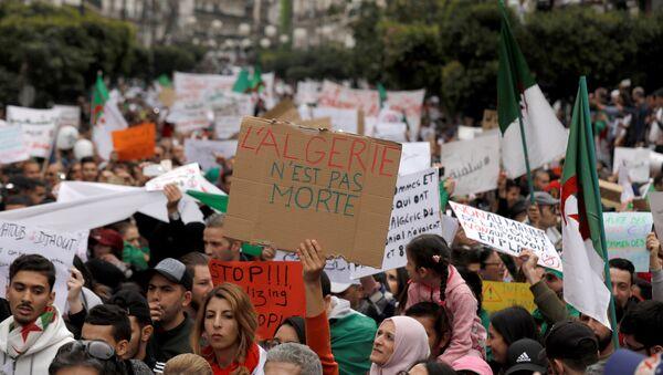 des manifestations en Algérie - Sputnik France
