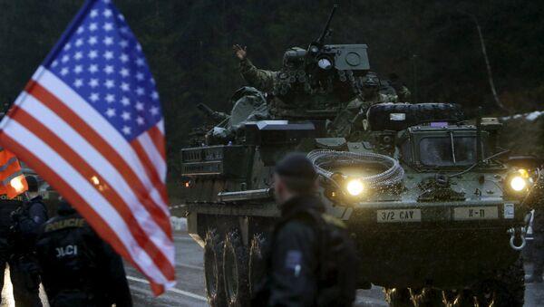 Militaires US en Tchéquie - Sputnik France