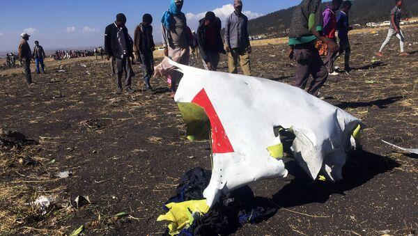 Crash d'un Boeing 737 en Éthiopie - Sputnik France