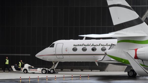 L'avion d'Abdelaziz Bouteflika - Sputnik France