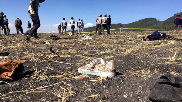 le lieu de crash de l'avion de l'Ethiopian Airlines - Sputnik France