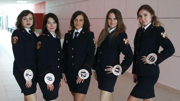 La beauté en uniforme: finale du concours Miss Rosgvardia Moscou 2019 - Sputnik France