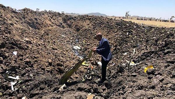 Lieu du crash du Boeing 737 MAX d'Ethiopian Airlines - Sputnik France