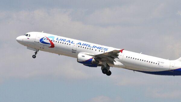 Un Airbus 321 d'Ural Airlines - Sputnik France