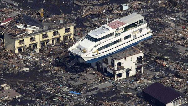 Tragédie au Japon: se souvenir du tremblement de terre et du tsunami de 2011 - Sputnik France