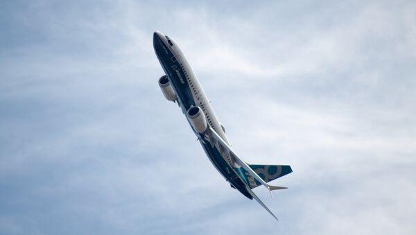 Boeing 737-8 MAX - Sputnik France