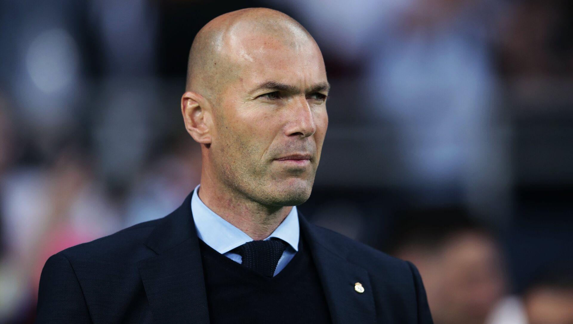 Zinedine Zidane - Sputnik France, 1920, 19.07.2021