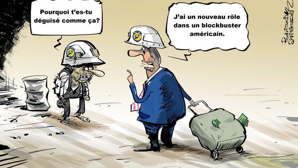Washington allouera 5 millions USD aux Casques blancs en Syrie - Sputnik France