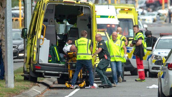 Après une attaque contre une mosquée à Christchurch, en Nouvelle-Zélande - Sputnik France