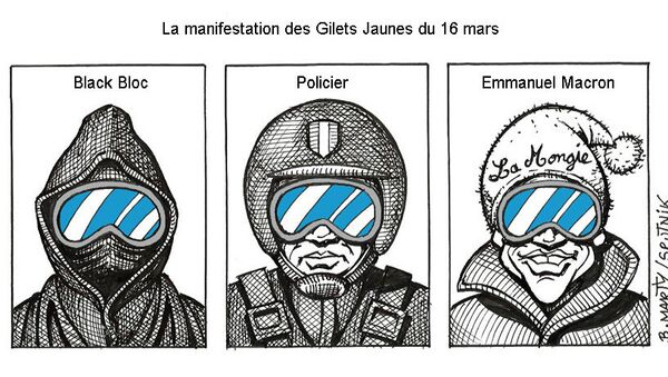 La manifestation des Gilets jaunes du 16 mars - Sputnik France