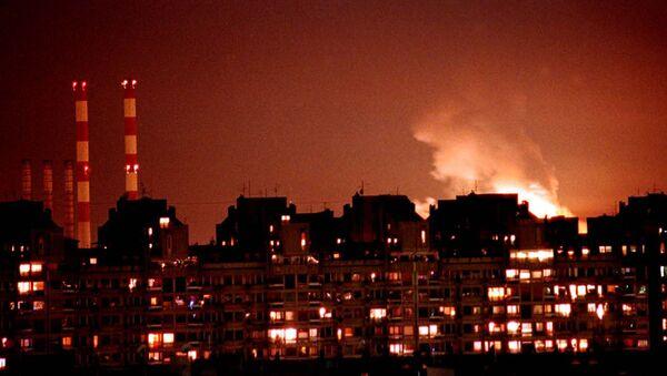 Bombardement de Belgrade par les forces de l'Otan en 1999 - Sputnik France