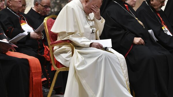 Pope Francis hosts a four-day summit on preventing clergy sexual abuse, a high-stakes meeting designed to impress on Catholic bishops around the world that the problem is global and that there are consequences if they cover it up - Sputnik France