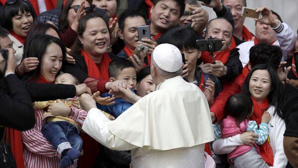 El papa Francisco en China - Sputnik France