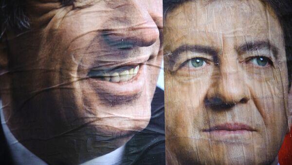 Francois Bayrou (à gauche) et Jean-Luc Mélenchon (archives) - Sputnik France