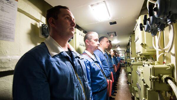 A l'intérieur du sous-marin russe Iouri Dolgorouki - Sputnik France