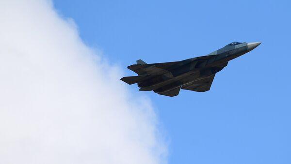 Un Su-57 - Sputnik France
