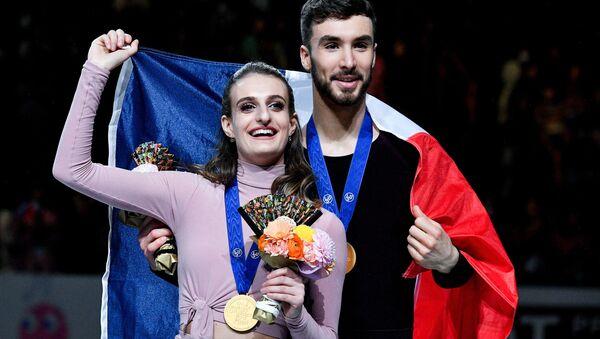 Gabriella Papadakis et Guillaume Cizeron - Sputnik France