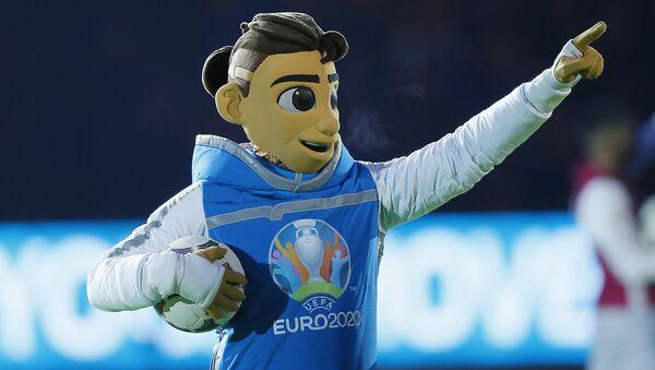 La mascotte officielle de l'Euro 2020 Skillzy - Sputnik France